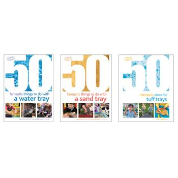 50 Fantastic Ideas Book Packs, Sand & Water Set, Set of 3