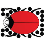 Number Skills, Magnetic Giant Ladybird, Each