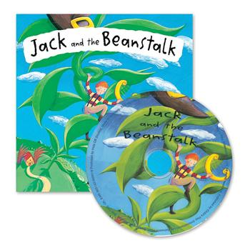 Fairytale Book & CD, Jack & The Beanstalk, Set