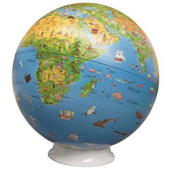 Geography, Globe, Activity, 300mm Diameter, Each