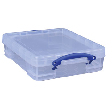 Really Useful Boxes, 11 litre, 456 x 356 x 120mm, Each