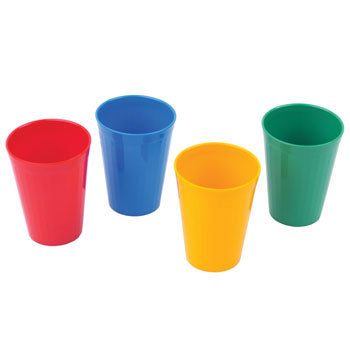 Polycarbonate Ware, Standard, Beakers, Coloured, Pack of 10