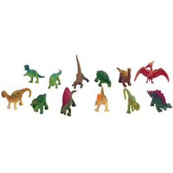Toy Animals, Dinosaurs, Ages 3+, Pack of 48
