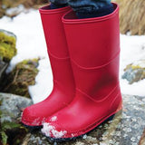 Classic Wellies, Red, Set of 5 Pairs