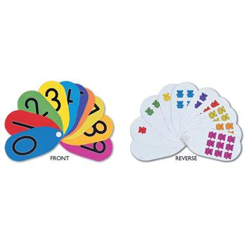 Teaching Fans, Numbered Three Bear Family, Pack of 10