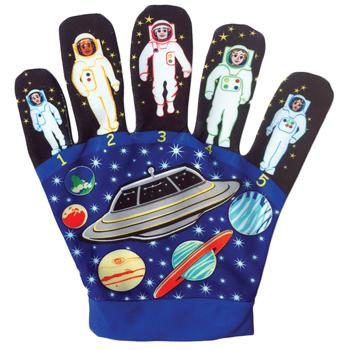 Favourite Song Hand Puppets, Five Little Men, 1 Glove, Set