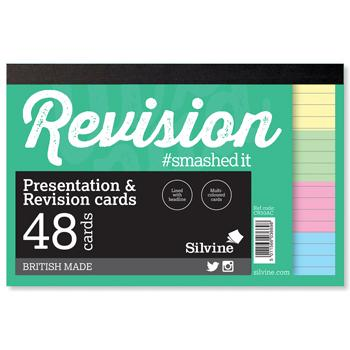 Revision & Presentation Cards, Gluebound, Pack of 20