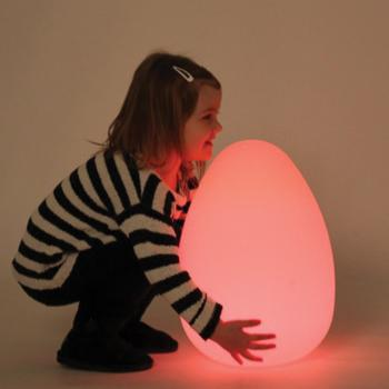 Sensory Lights, Egg, 300 x 300 x 420mm, Each