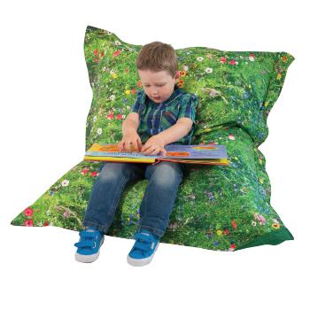 Summer Meadow Bean Bag Cushion, Each