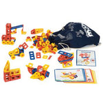 Mobilo, Large Set With Workcards, Ages 3+, Set of 192 Pieces