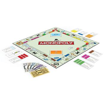 Monopoly, Age 8+, Each