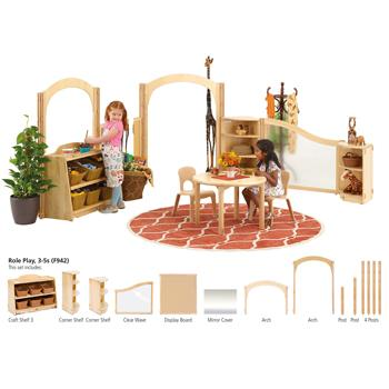 Children's Furniture, Role Play, 3-5S (F942)