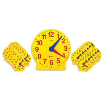 Time, Classroom, Big Time Learning Clock Classpack, Age 5-9, Set