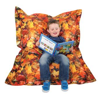 Autumn Leaves Bean Bag Cushion, Each