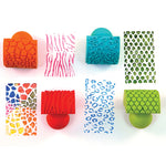Easy Grip Range, Animal Patterned Rockers, Pack of 4