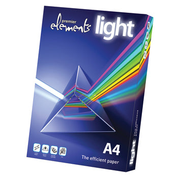 Premier Elements Light, A4 70gsm, Box of 5 Reams