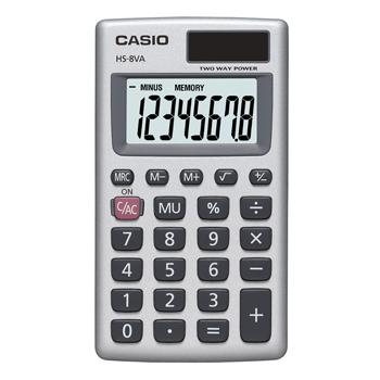 General School, Calculators, Casio HS-8VA-S-EP, Each