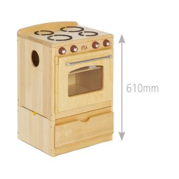 Children's Furniture, Play Collection, Cooker & Drawer (C513)