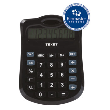 Calculators, Texet DV-8, Pack of 6