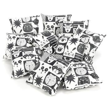 Cushions, Set of 10