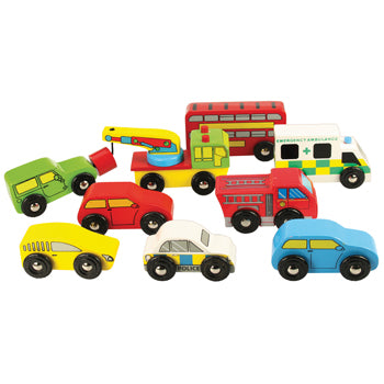 Vehicles, Age 3+, Set of 9