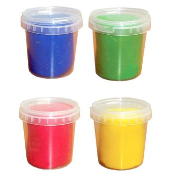 Finger Soft Dough, Brights - Single Colours, Tub of 2.5kg