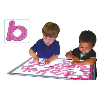 Silishapes(R) Alphabet Trace, Lower Case, Set of 26