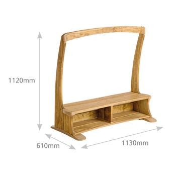 Outlast, Outlast Arbour Bench (W461)
