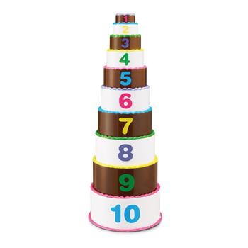 Stack & Count Layer Cake, Age 3+, Each