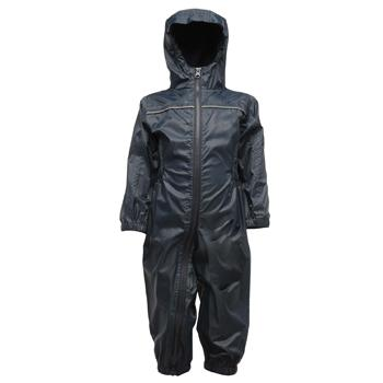 Child's Waterproof Rainsuit, Navy
