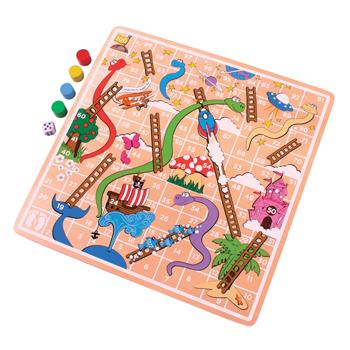 Board Games, Snakes and Ladders, Age 3+, Each