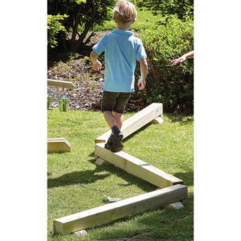 Millhouse Outdoor Balance Beam 1.2m, Each