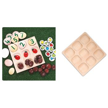 Counting & Sorting, Natural Sorting Tray, Each