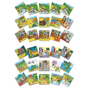 Traditional Tales, Tell Me A Story, Sequencing Cards, Set of 30 Cards