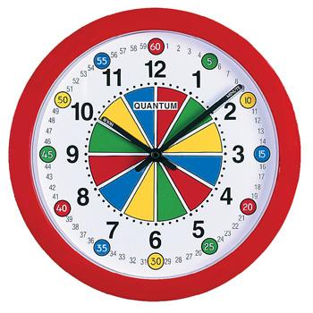 Teaching Clocks, Quantum 2150 Wall Clock, Each