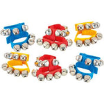 Wrist Bells, Age 3+, Set of 6 Pairs