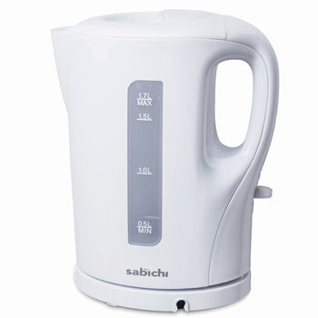 Kettles, White Budget Cordless Jug, 1.7 Litres, Each