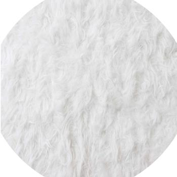 Tuff Tray Mats, White Fake Fur, Each
