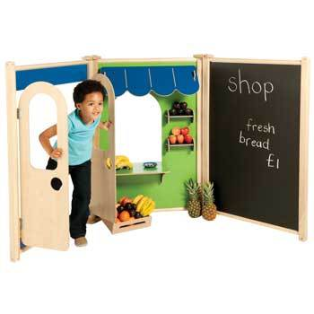 Millhouse, Role Play Panels, Bundle Deal Shop Set, Set of 3 Panels
