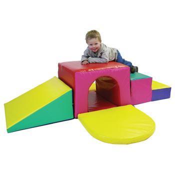 Soft Play, Soft Tunnel Climber, Set
