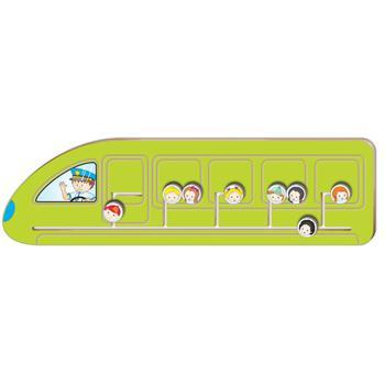 Transport Sensory Panels, Train, 240 x 850mm (h x w)., Each