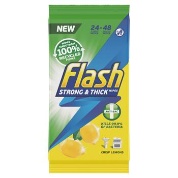 Flash Wipes, Antibac