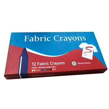 Fabric Crayons, Pack of 12