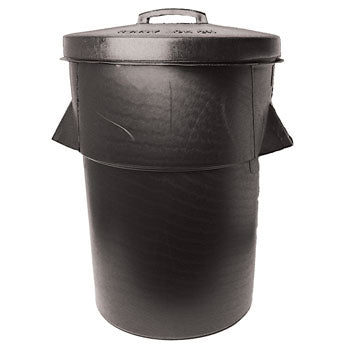 Dustbin, Recycled Polythene, 90 litre, Plastic Lid, Each