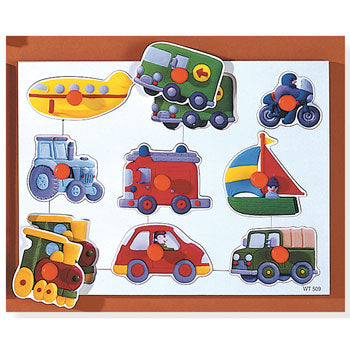 Peg Boards, Transport, Age 2+, Each