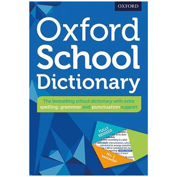 Dictionary, English, Oxford School, Age 10+, Each