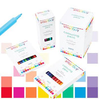 Pens, Washable Fibre Tip, Smartbuy, Fine Tip, Assorted