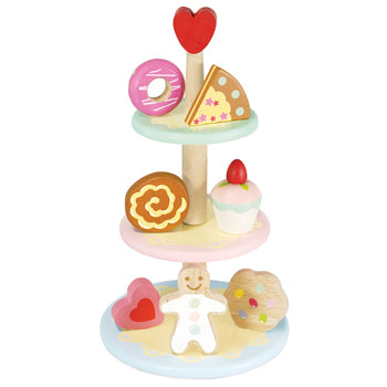Role Play, Baking, Cake Stand and Cakes, Age 3+, Set