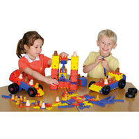 Junior Polydron, Classroom Set, Age 3+, Class Pack of 372 Pieces