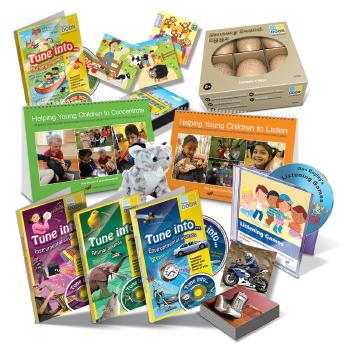 Progress Packs, Listening, Age 3+, Set